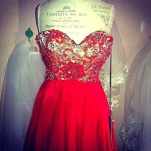 Boho inspired Homecoming dress